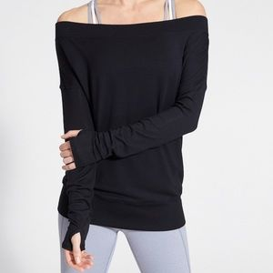 Athleta studio barre top